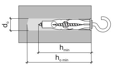Дюбель универсальный с крюком параметры монтажа рис 2